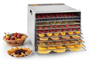 Fruit Jerky Pro mit Trockenobst und 10 Einschüben