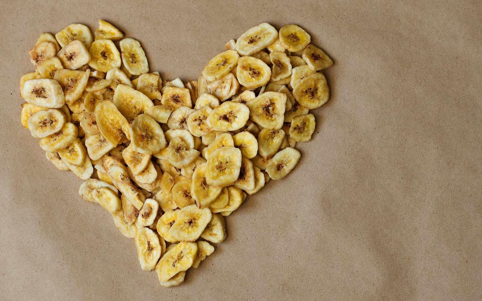 Bananenchips aus dem Dörrgerät